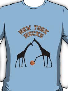 New York Necks (giraffe pattern for light-colored shirts) T-Shirt