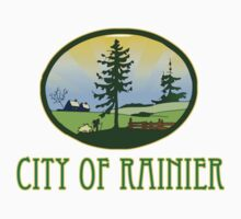 city of Rainier Washington truck stop novelty  by tia knight