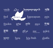Peace in many languages by LaDozor