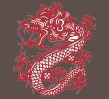 Red Chinese Dragon by Hendude