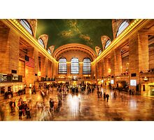 Golden Grand Central Photographic Print