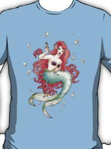 Mucha-esque Mermaid T-Shirt