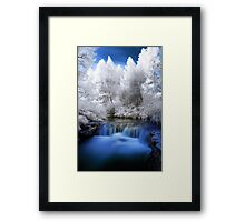 Kerosine creek in infrared 2 Framed Print