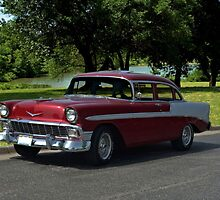 1956 Chevrolet Model 210 by TeeMack