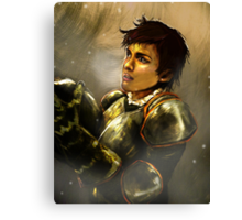 Reveal the Warrior Canvas Print
