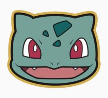 Bulbasaur Pokemon Minimal Design First Generation Sticker Shirt by Jorden Tually