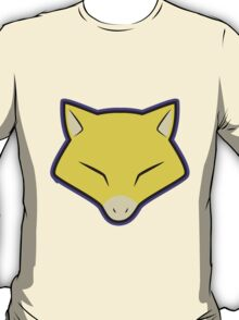 ABRA Pokemon Minimal Design First Generation Sticker Shirt T-Shirt