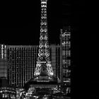 Eiffel Tower in Las Vegas @ Night by GJKImages