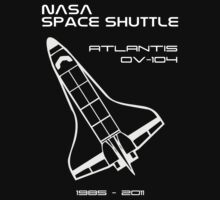 NASA Space Shuttle Atlantis by Samuel Sheats