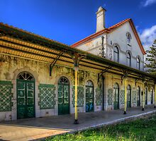 Lagos Old Railway Station by manateevoyager