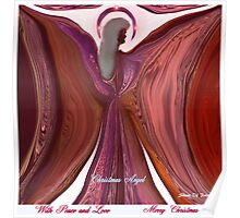 MY CHRISTMAS ANGEL OF PEACE AND LOVE Poster
