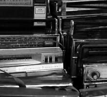 Vintage Radios by Maximilian Ammann