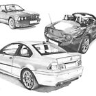 BMW 3 series (E46), 6 Series (E24) & Z4 Roadster (E85) by Steve Pearcy