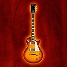 Gibson les paul standart v2 iPhone Case by goodmusic
