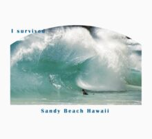 Sandy Beach Shorebreak T-Shirt by kevin smith  skystudiohawaii