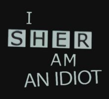 self-aware sherlock fan shirt by thegestianpoet
