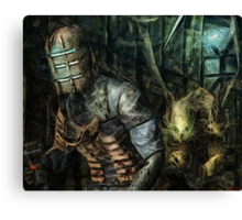 What Lurks Behind Canvas Print