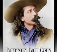 Buffalo Bill Cody in Oil by Richard  Gerhard