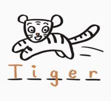 Draw Draw Tiger Kids Clothes