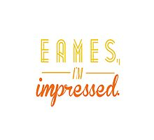 eames, i'm impressed. by supercena