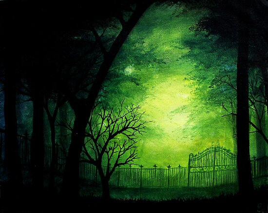 Ghastly Gate by Erin Scott