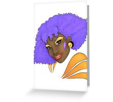 Shana - The Holograms Greeting Card