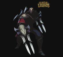 League of Legends Zed  by JellyBeanie
