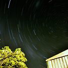 Backyarder star trails by Jarrod Lees