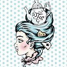 Tea Pot Lady by Ella Mobbs