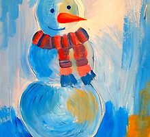 Frosty the snowman by ©The Creative  Minds