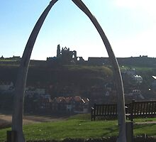Jaw bones at Whitby by davidwatterson