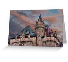 The Fairmont Chateau Laurier in Ottawa, Canada Greeting Card