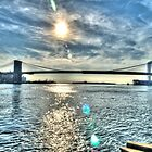 Brooklyn Bridge (Surreal) by Timothy Borkowski