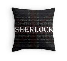 Sherlock Holmes Flag Throw Pillow