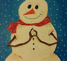 Namaste Snowman by Deb Coats