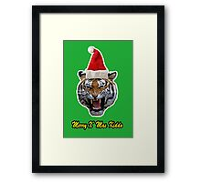 don't cheat presents Framed Print