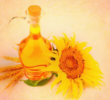 sunflower oil by Adam Asar