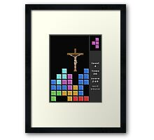 Jesus At Just The Right Time Framed Print