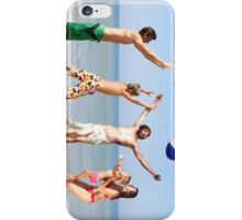 Jesus Playing On The Beach iPhone Case/Skin