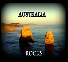 Australia Rocks by Chris Chalk