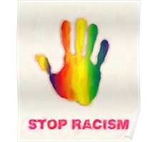stop racism Poster