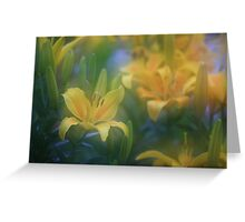 """lillium world..."" Greeting Card"