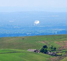 Jodrell Bank from the Hills by DMHotchin