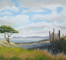 View of Howth from Corballis by Geraldine M Leahy
