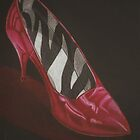 neovibe.us | red shoe - Print & Greeting Cards by neovibe