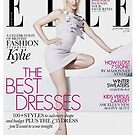 Primodels Review-Kylie Minogue Stuns For ELLE UK January by primodels