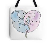 Elephant Love Tote Bag