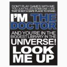i&#x27;m the Doctor Look me up by ragegage