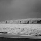 big wave by Wh1tephoto