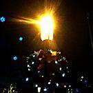 Holiday Street Lamp, Morristown NJ by Jane Neill-Hancock